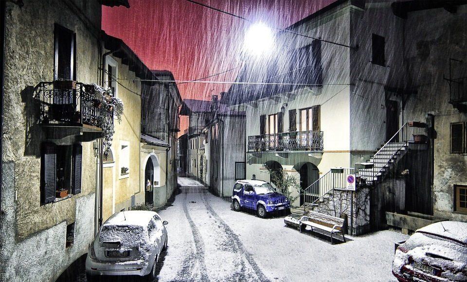 Arriva il freddo. Nevicate anche in Calabria e Sicilia