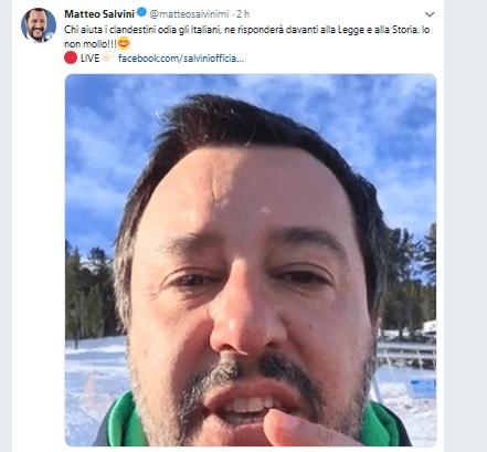 """Scontro Salvini-Orlando: """"Finita la pacchia per i sindaci Pd"""""""