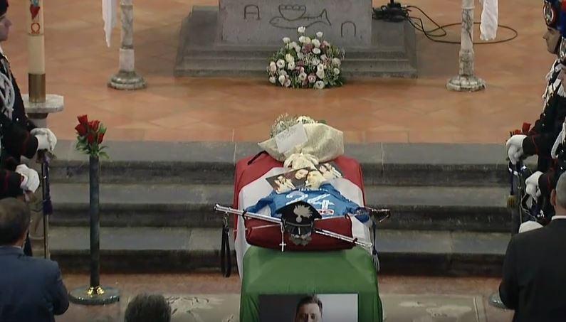 La dedica della vedova al Carabiniere ucciso, ecco il testo della lettera