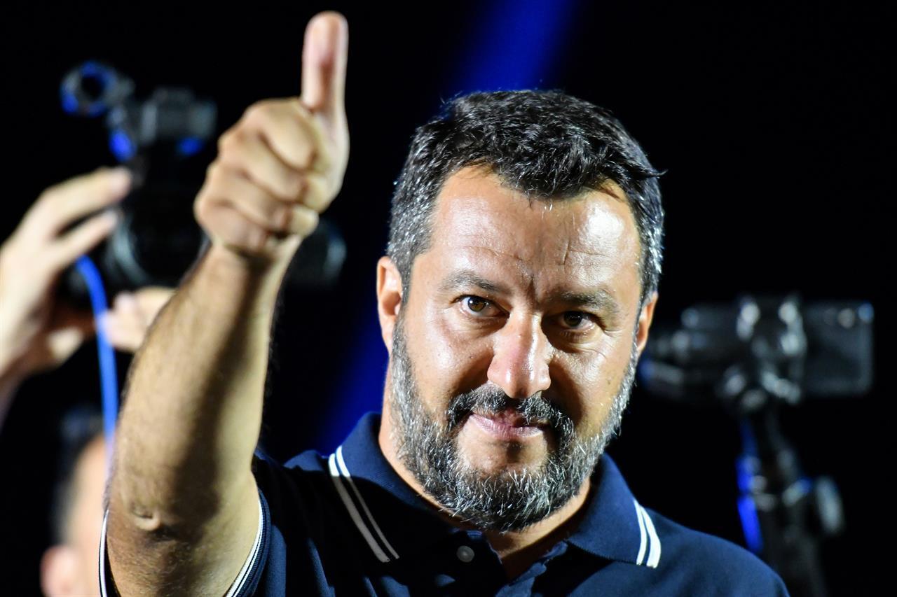"""Salvini alle Iene: """"Nessun problema a fare test antidroga"""""""