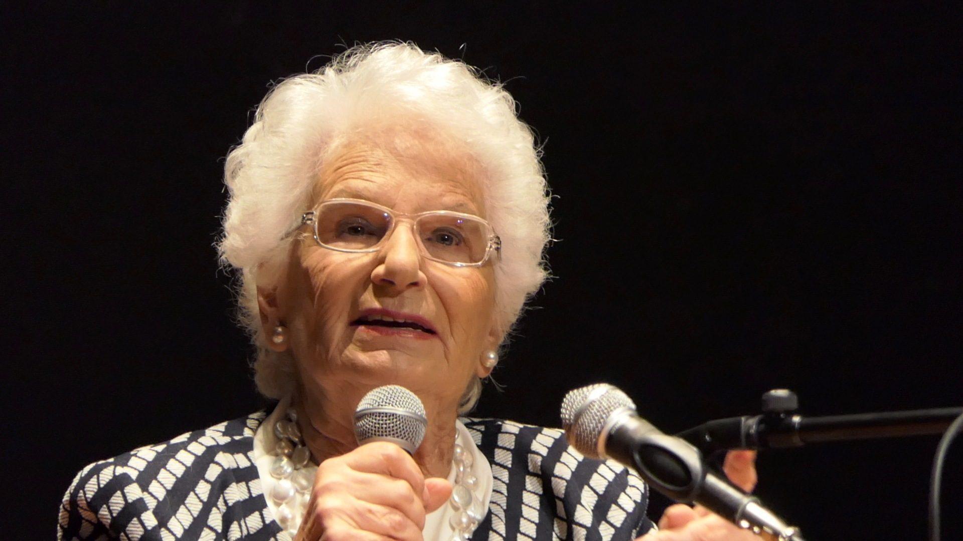 """Liliana Segre: """"Lasciamo i Nobel ai Nobel"""""""