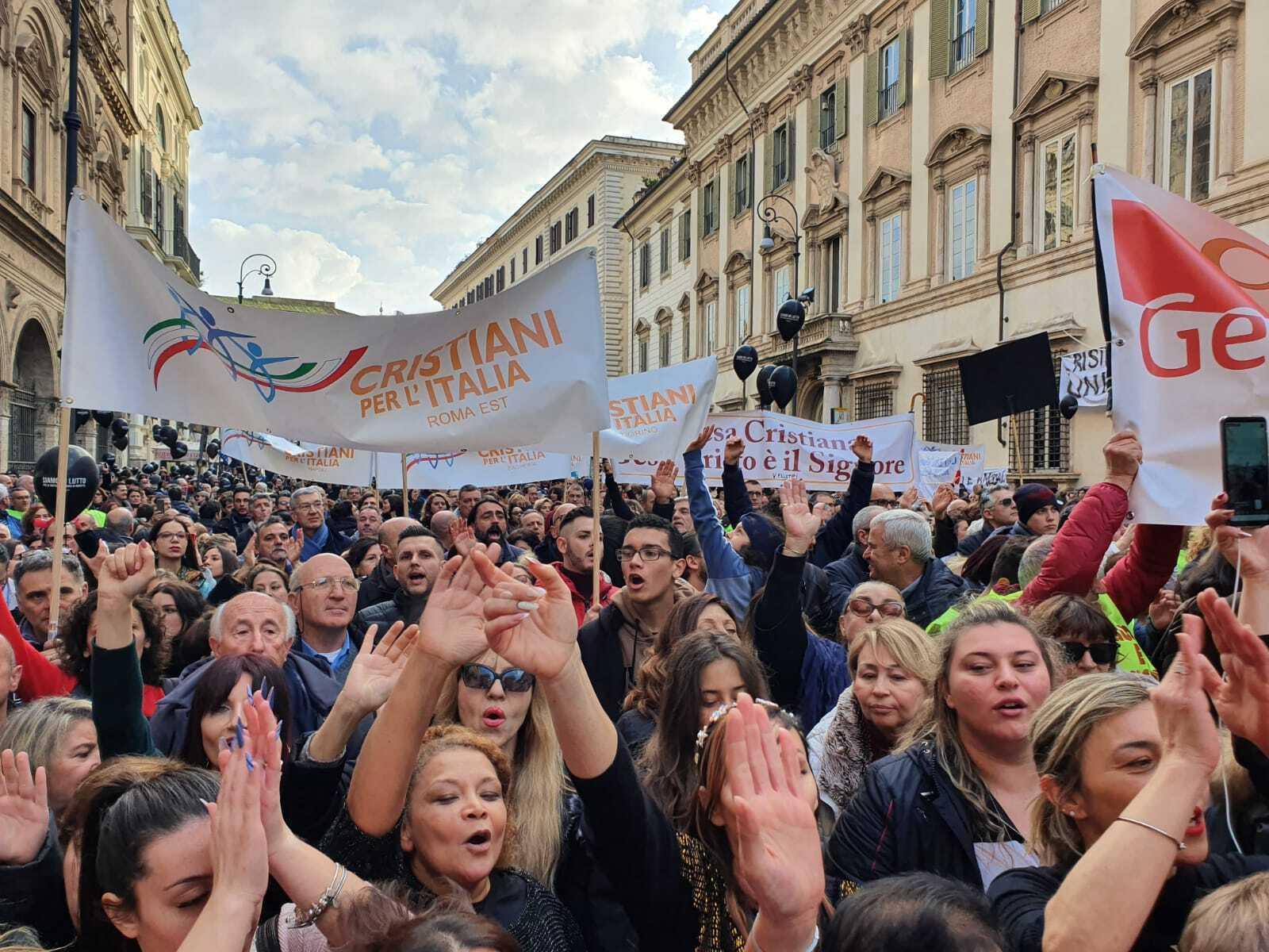 Le richieste al Governo italiano dal ChristianDay di Roma