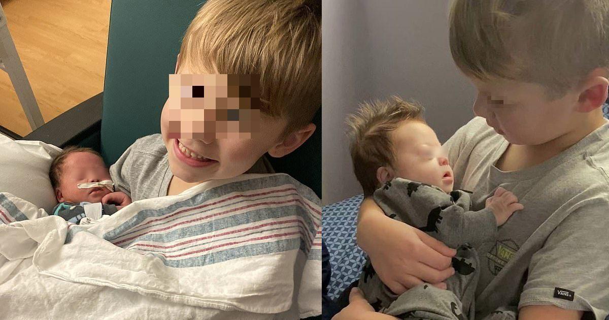 Bimbo di 6 anni canta per il fratellino down: il video diventa virale