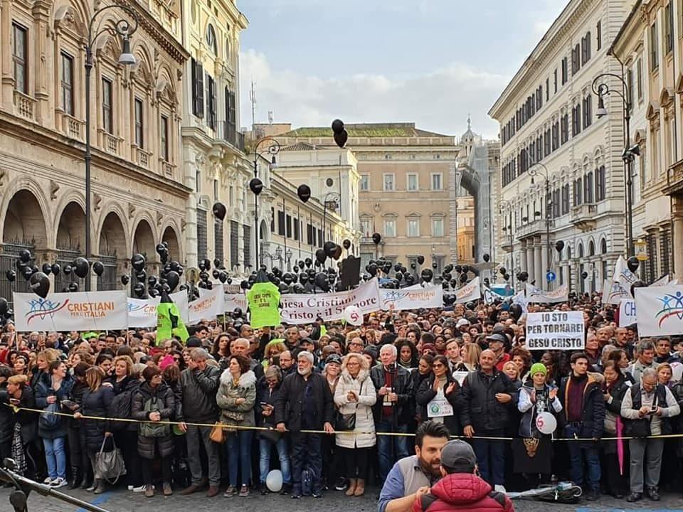ChristianDay a Roma, le dichiarazioni dei presenti