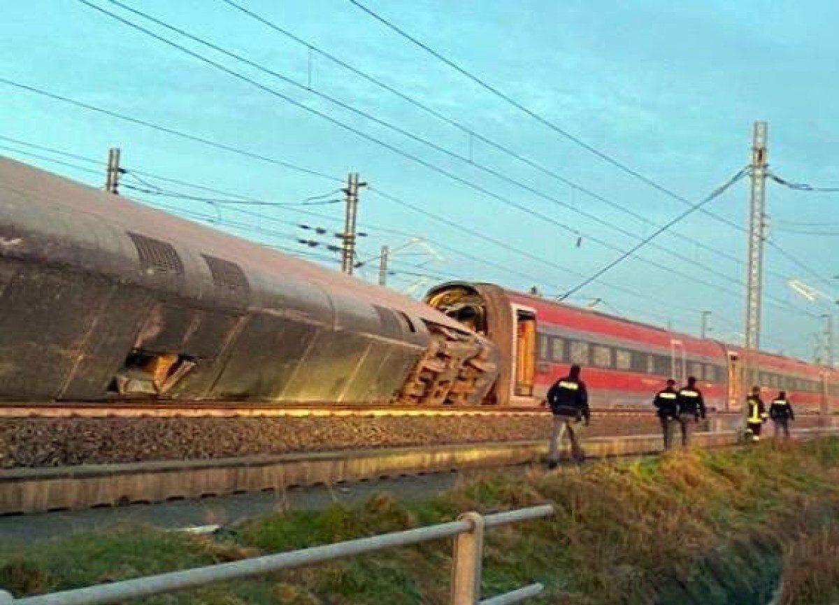 Frecciarossa deraglia in Lombardia: morti i due macchinisti, 30 feriti