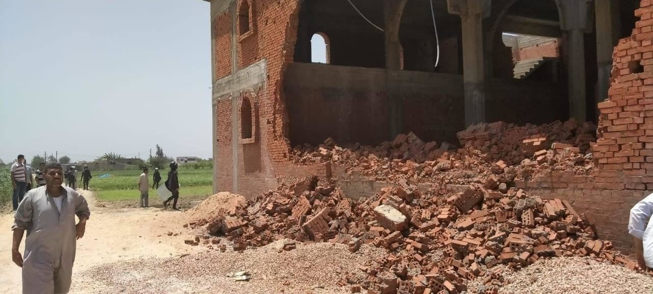 In Egitto è stata demolita una Chiesa: ospitava più di 3mila fedeli