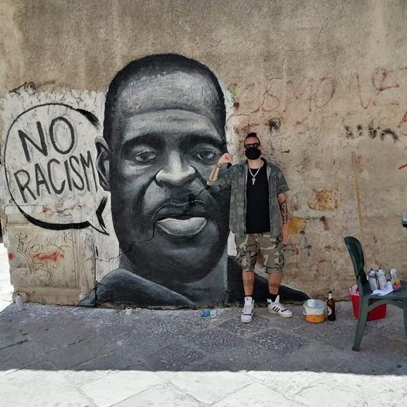 No racism, Ballarò, Palermo