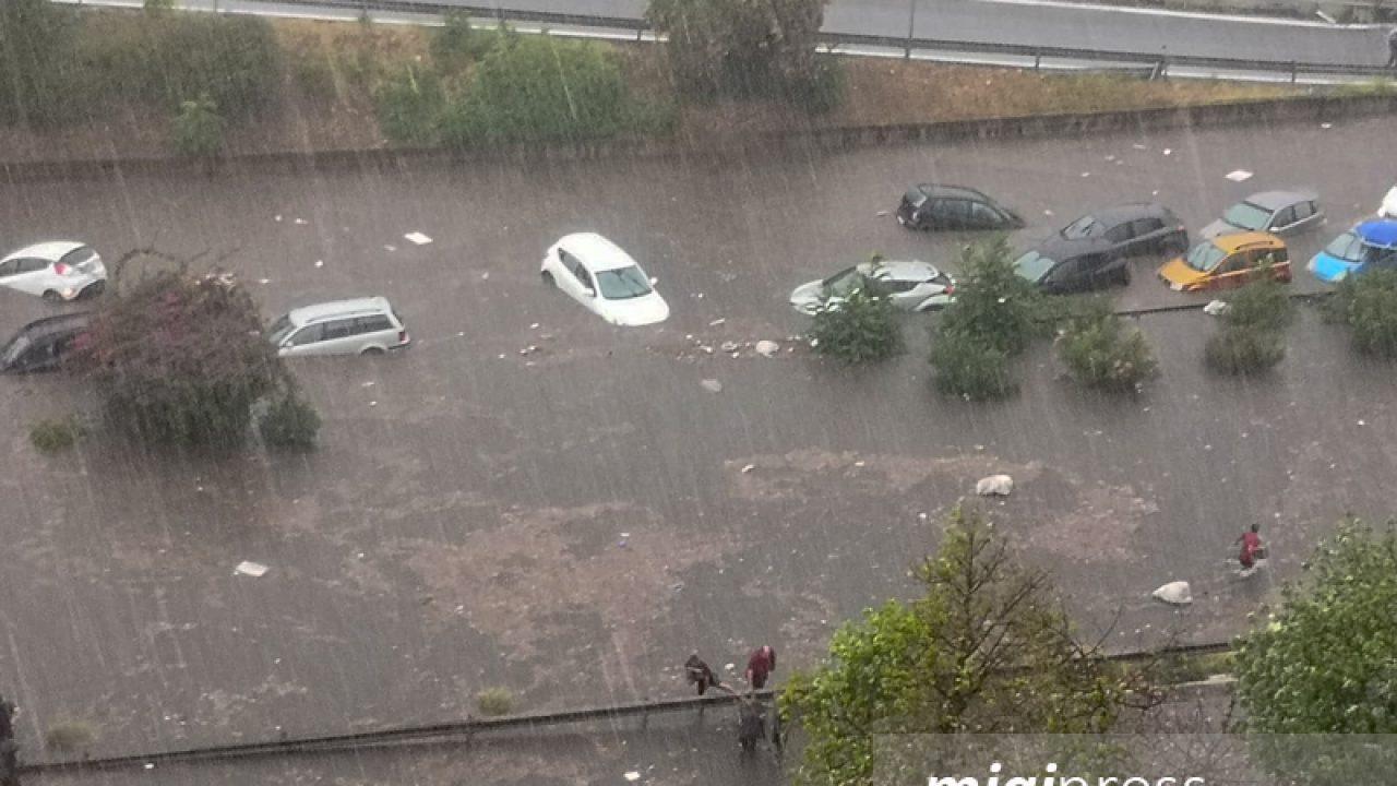 Arriva l'ufficialità: a Palermo la bomba d'acqua non ha fatto nessuna vittima