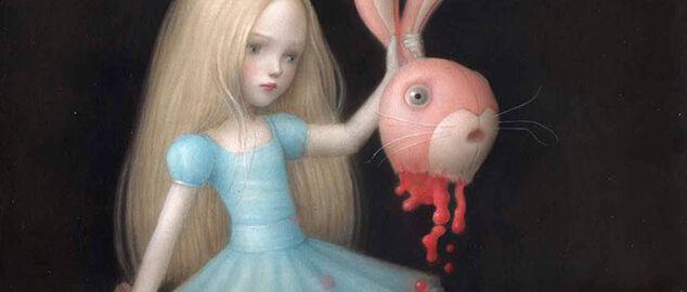 Una bambina che sgozza un peluche: polemiche per una mostra a Cremona