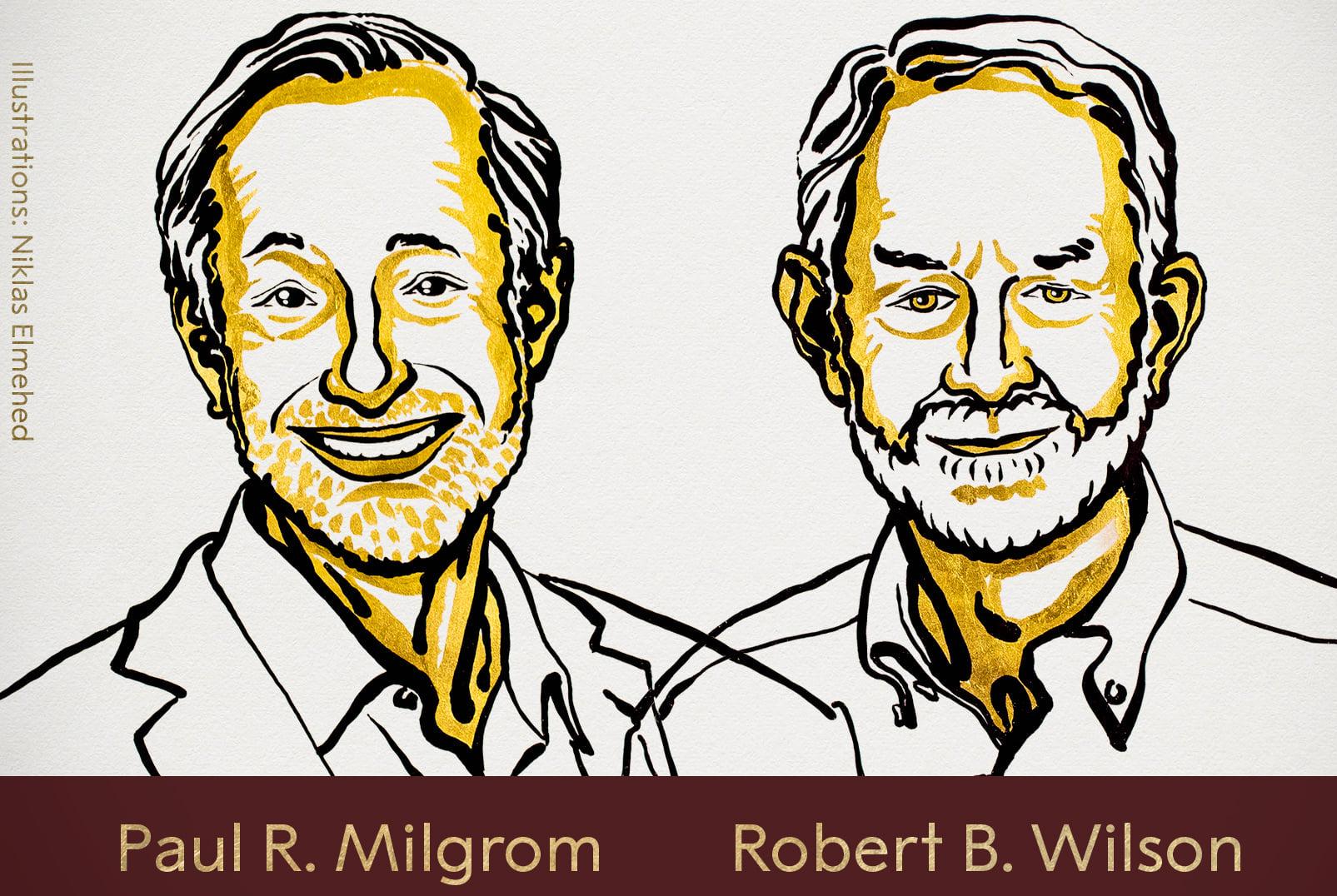 Il Nobel per l'Economia 2020 va a Paul Milgrom e Robert Wilson