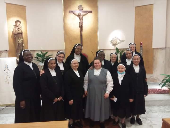 Suore Agostiniane, dopo 30 anni una suora italiana entra a far parte della congregazione: è una 27enne di Palermo