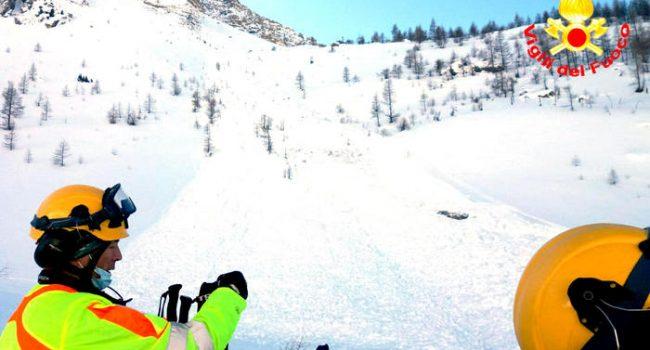 Morto nella notte Filippo Calandri, il 23enne travolto da una valanga sulle Alpi cuneesi
