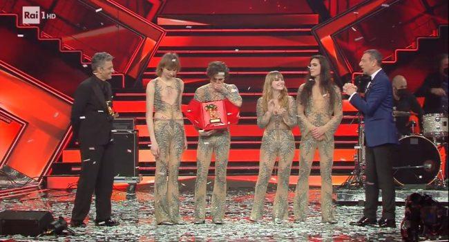 Sanremo 2021, chi ha vinto la 71esima edizione: trionfano i Maneskin