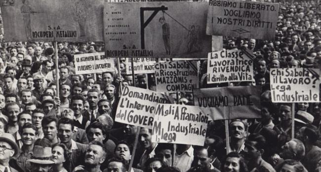 5 marzo 1943, quando gli operai manifestarono al Nord Italia per chiedere i propri diritti