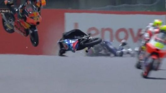 Grave incidente in Moto3, è morto il pilota Jason Dupasquier