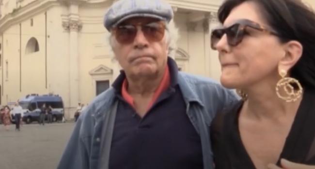 Roma, anche Enrico Montesano in piazza per protestare contro il Green Pass